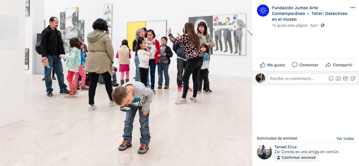 Si crees que las vacaciones terminaron te contamos de las actividades infantiles en el Museo Jumex para enero, serán detectives en el museo.
