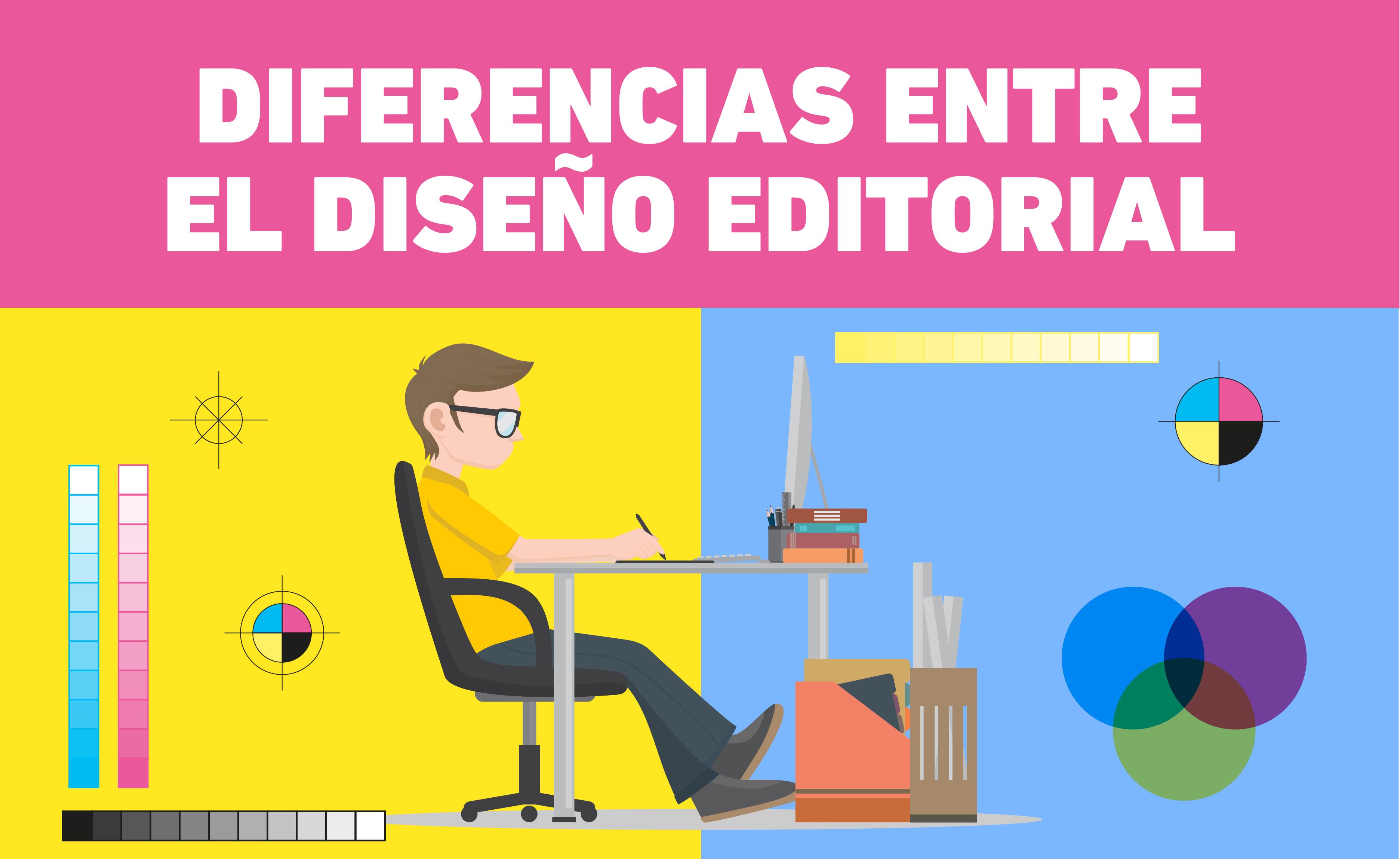 Existen diferencias entre diseño editorial impreso y digital que no se deben pasar por alto, porque podría confundir al lector.