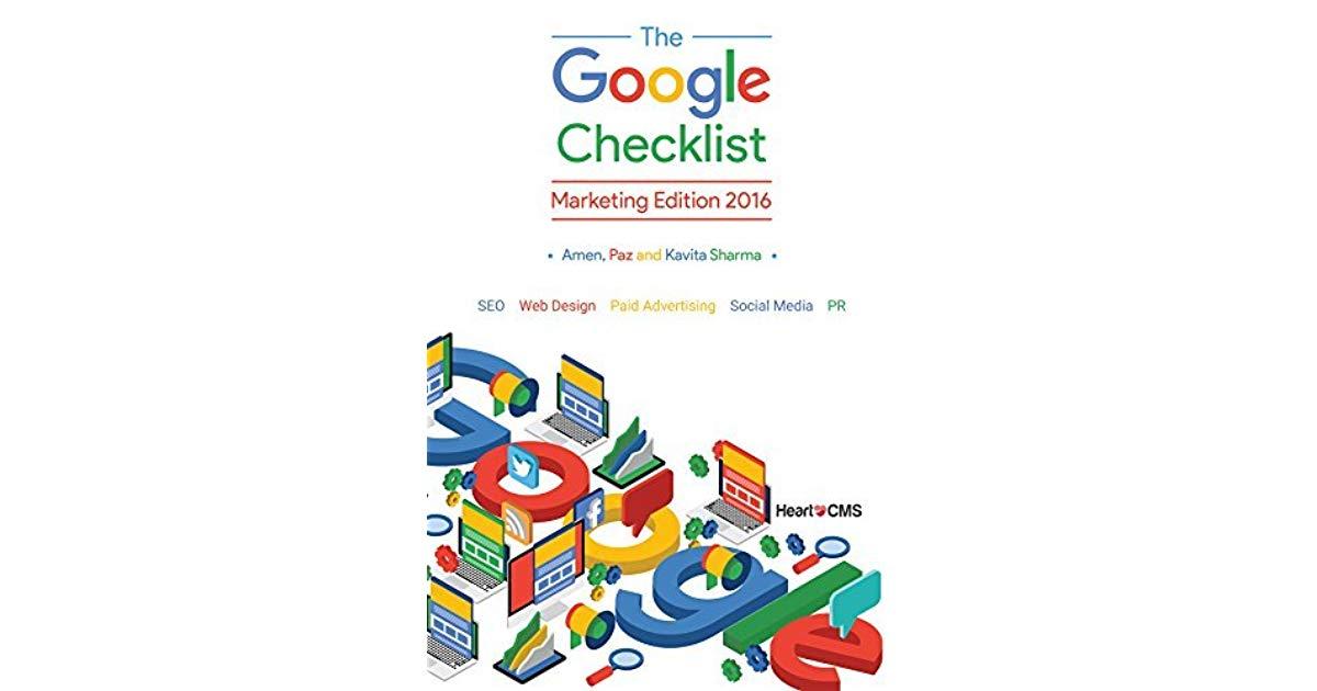 El libro The Google Checklist te ayudará a comprender temas como el diseño web, SEO, publicidad online y otros que impulsarán tu sitio.