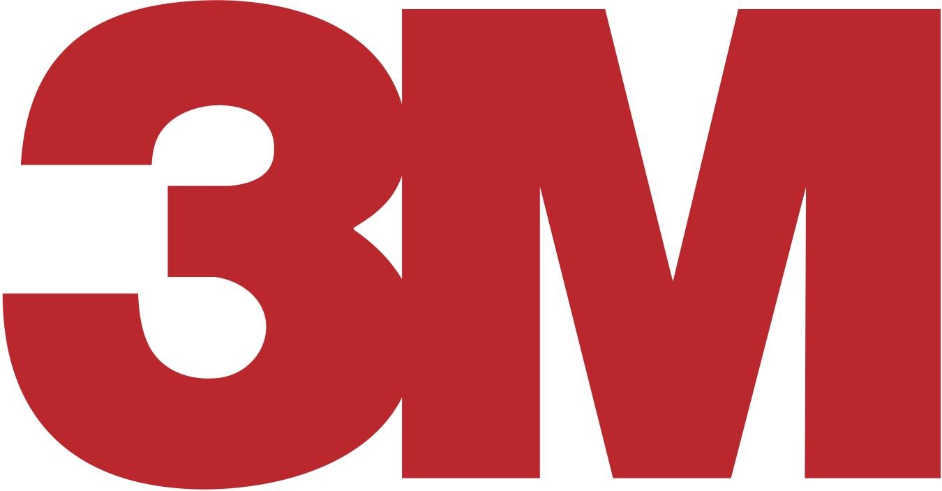 El logotipo de 3M es minimalista, pero es capaz de ser lo suficientemente fuerte y visualmente atractivo para respaldar a más de 55,000 productos.