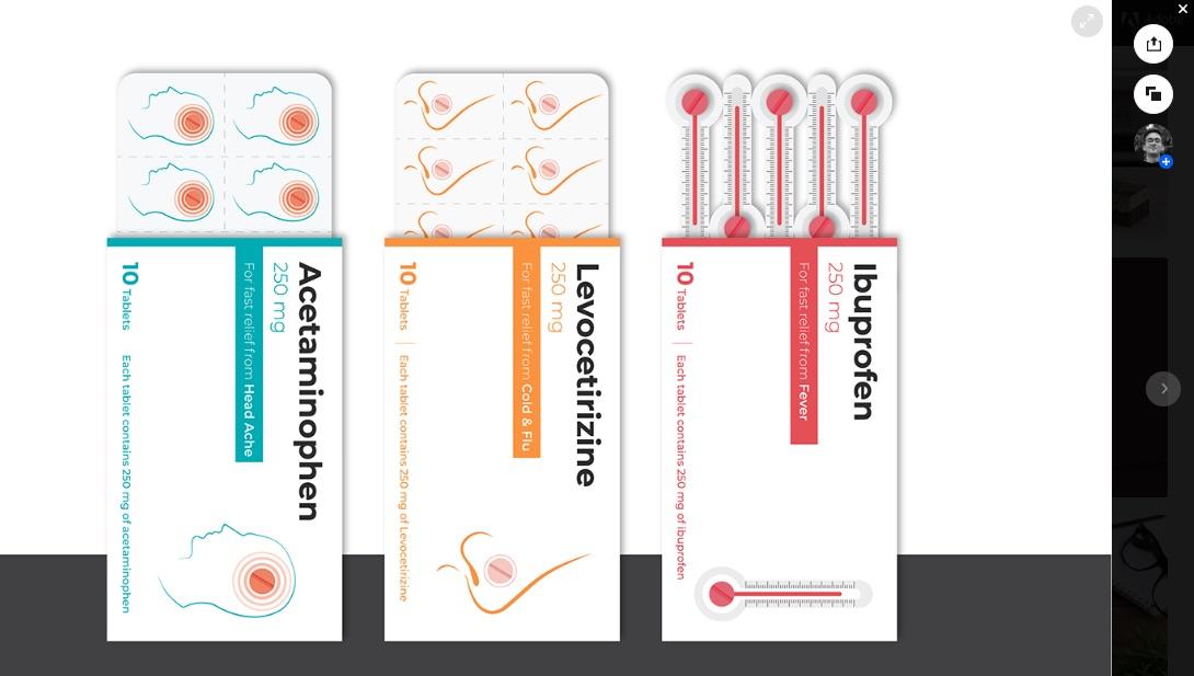 Estos empaques para medicinas tienen un diseño innovador que te permite conocer el objetivo de cada pastilla sin necesidad de recordar el ingrediente activo
