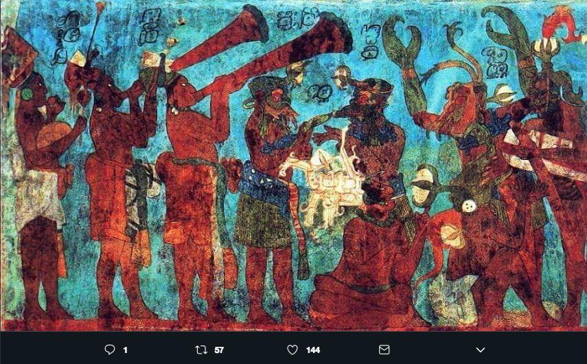 El Azul Maya es un color utilizado en murales y en cerámica, gracias a su preparación conserva su intensidad después de 1600 años.