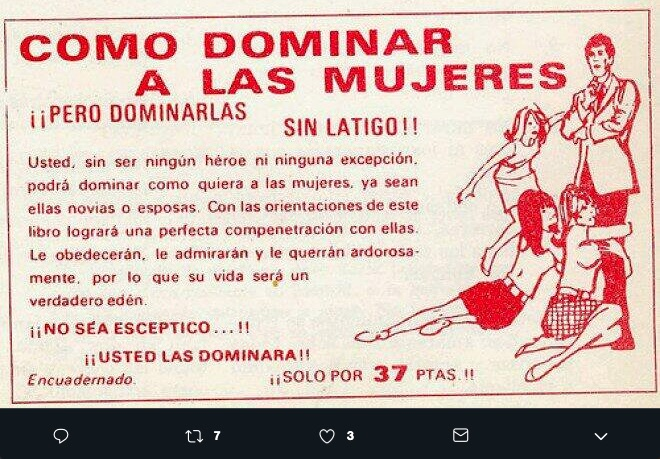 Estos anuncios machistas antiguos nos hace replantear el como concebíamos el diseño y a la sociedad de antes para expresarlo en ilustraciones.