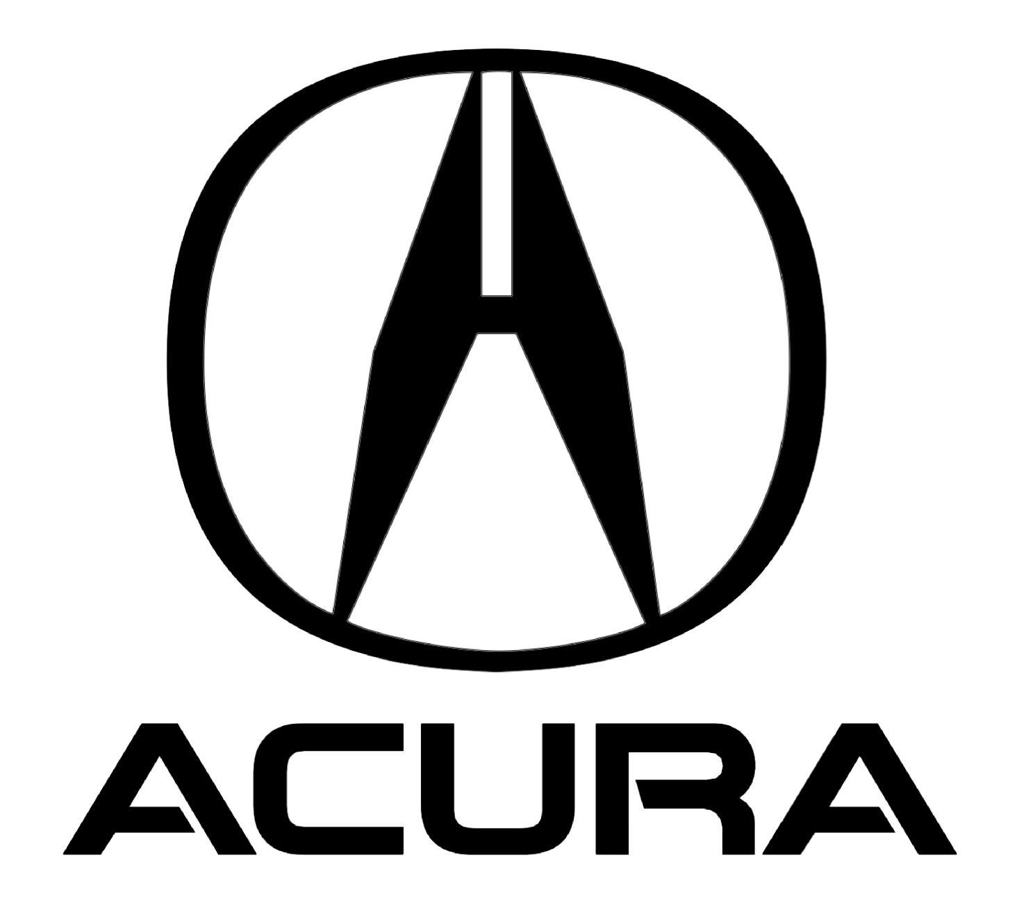 """El logotipo de Acura consiste en una letra """"A"""", pero también oculta una referencia a la marca Honda, su compañía matriz. ?"""