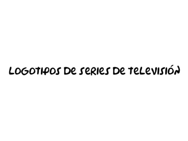 Estos logotipos de series de televisión muestran la esencia del programa, dando además una imagen fácil de identificar y recordar.