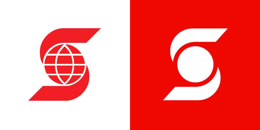 El nuevo logotipo de Scotiabank a nivel global se deshace, irónicamente, de un elemento característico de éste, el mundo de su isotipo.