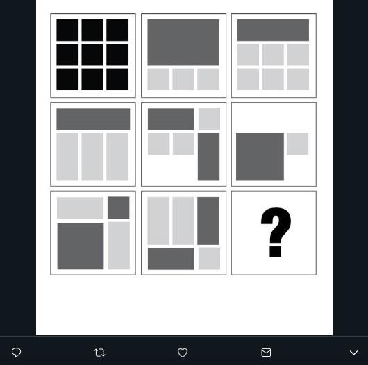 Estas son las retículas más usadas en el diseño editorial, representan una forma de organizar la información e imágenes de manera armoniosa para la lectura.