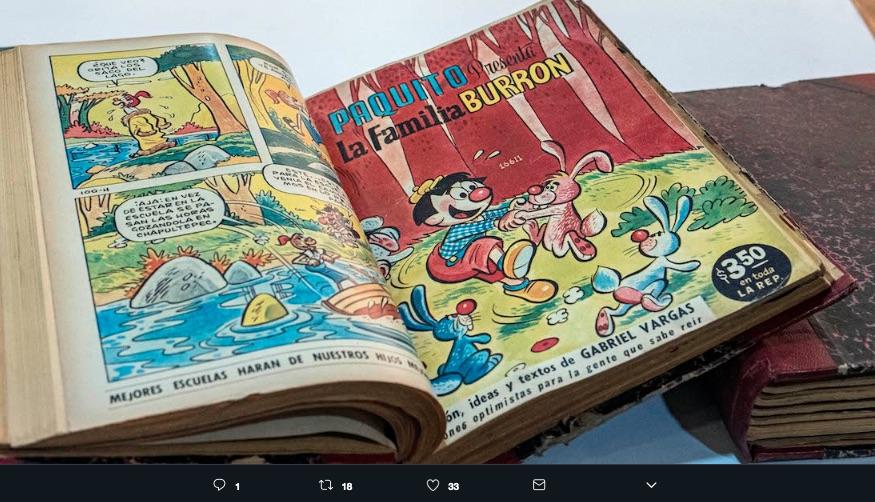 El catálogo de historietas mexicanas es único en México, tiene el objetivo de promocionar estas ilustraciones y la importancia que tuvieron en los 50s.
