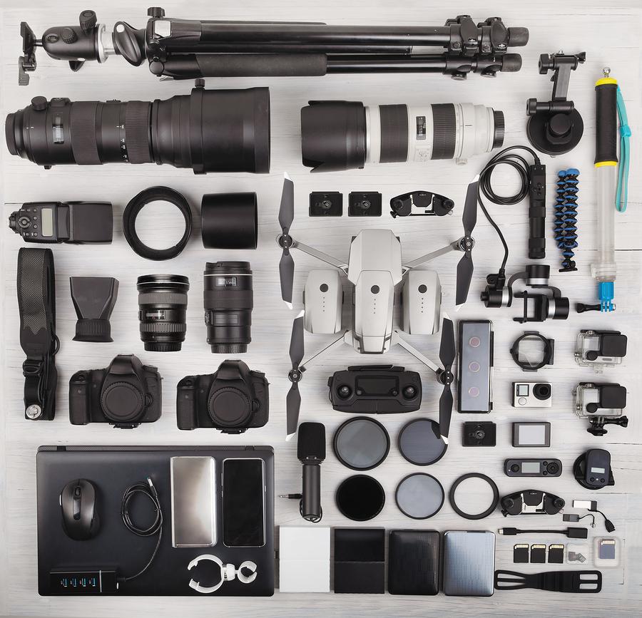 Existen algunos accesorios para la cámara que es mejor no arriesgarse a la mala calidad y optar por una inversión más fuerte pero confiable,