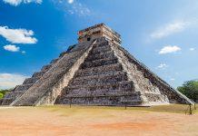 Usualmente pensamos en pirámides mexicanas como ruinas arqueológicas, pero gracias a la tecnología podemos verlas como si aún estuvieran en nuestro entorno.