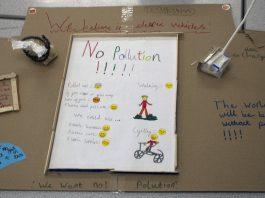 En un experimento bastante innovador, en Londres los niños diseñan ciudades para proponer soluciones al cambio climático y la contaminación ambiental.