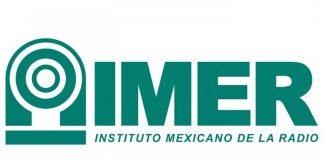 El logo del IMER proviene de una simplificación de la imagen de una de las estaciones con las que inició transmisiones el organismo.