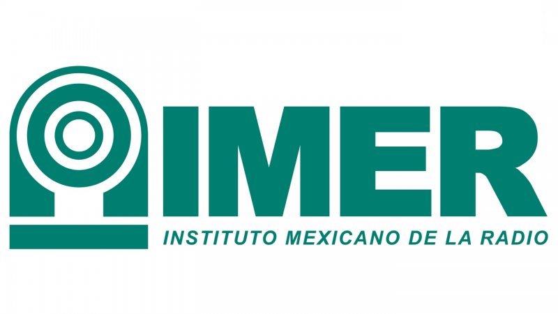 El logo del IMER hace referencia a la señal radiofónica