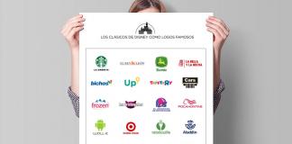 El escritor y diseñador Modesto García creó logotipos de películas de Disney que se combinan con algunos de marcas famosas. El resultado es increíble.