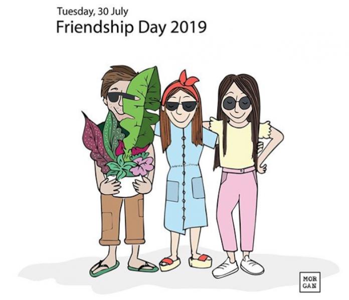 El Día del Amigo es una fecha internacional para celebrar la amistad, en la que unifica ese sentimiento de confraternidad en todo el mundo.