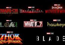 La fase 4 de Marvel fue presentada en la Comic-con de San Diego y con ella los distintos logotipos de las películas y series que se estrenarán próximamente.