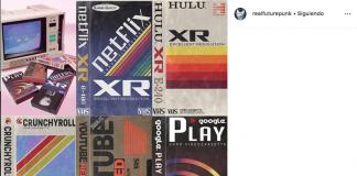 Te imaginas estos logos con estilo retro si hubieran sido diseñados con las características coloridas, brillantes y futuristas de los ochentas.