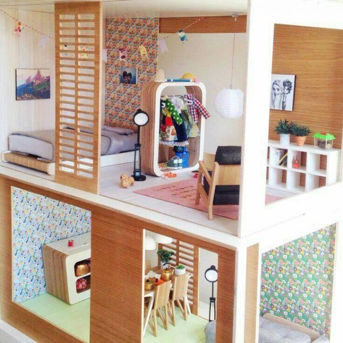 Miniio: Una casa de Barbie con mucho estilo y diseño 👩🏼