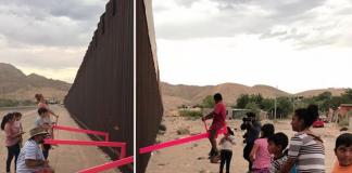 Este sube y baja en la frontera de México y EU fue instalado por dos arquitectos, que buscan conectar a las personas de ambos países.