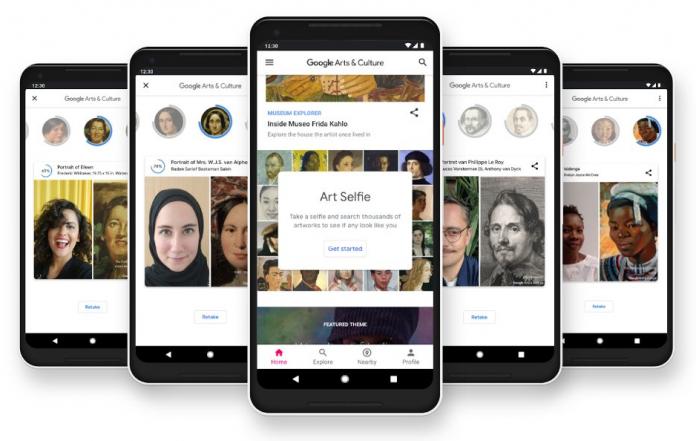 La app de Google Arts & Culture ahora tiene disponible globalmente los Art Selfies, una función que permite encontrar coincidencias de tu cara con pinturas.