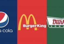 Estos logotipos de marcas mezclados con la identidad visual de sus competidores te harán confundirte entre lo que ves y lees.