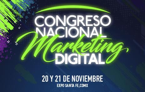 Tienes hasta el 31 de agosto para adquirir tu boleto con descuento y asegurar tu lugar en el Congreso Nacional de Marketing Digital 2019.