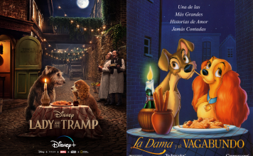 Disney+ lanzará el live-action de La Dama y el Vagabundo en noviembre; y el cartel que presentó nos hace enamorarnos de los perros 🐶❤️.