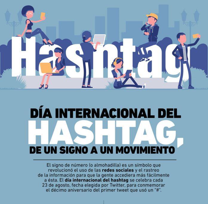 En esta infografía te explicamos cómo se creó este signo, cómo se constituyó el día del Hashtag y la transformación que significó en las redes sociales.