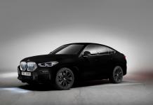 Un BMW X6 de exhibición utilizó el color Vantablack, el negro que absorbe la luz y evita que cualquier otro tono se refleje.