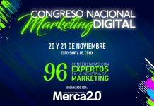 96 conferencias estarán reunidas en un sólo lugar durante dos días. El Congreso Nacional Marketing Digital 2019 te espera con mucha información.