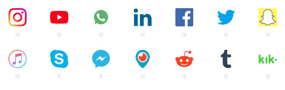 Descarga paquetes de iconos de Social Media GRATIS1