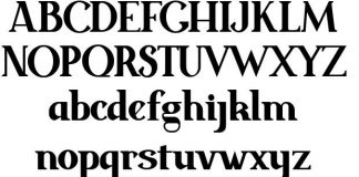 Estas fuentes serif son muy útiles para tus distintos proyectos que requieran de un toque de elegancia y sofisticación, además son gratuitas.