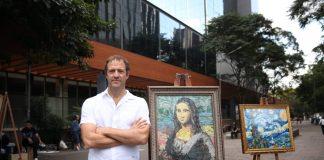 Corona x Parley presentó arte hecho con plástico recolectado en Brasil, con lo cual busca concientizar a la población sobre los desechos en el agua.