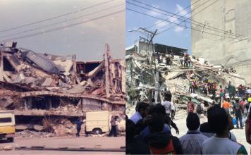 """Los terremotos del 19 de septiembre de 1985 y 2017 """"partieron"""" a la CDMX y a su arquitectura, así es como la arquitectura se modificó en segundos."""