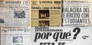 Estas periódicos reportaron así los hechos del 2 de octubre, en los que muchos minimizaron la violencia y represión que se vivió en Tlatelolco.