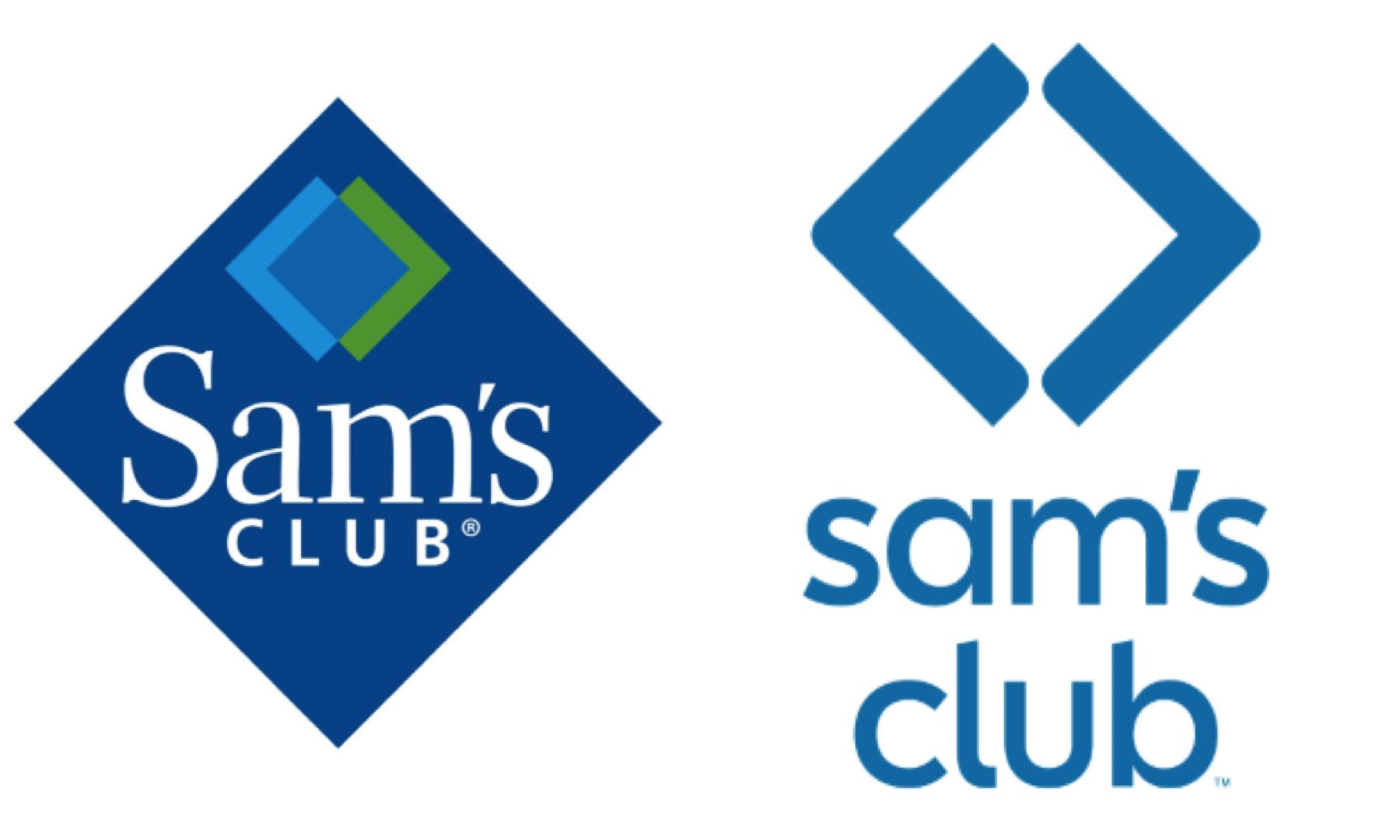 El nuevo logo de Sam's Club se convirtió en una versión reducida del rombo que lo identificaba, pero al parecer el diseño es demasiado simple.