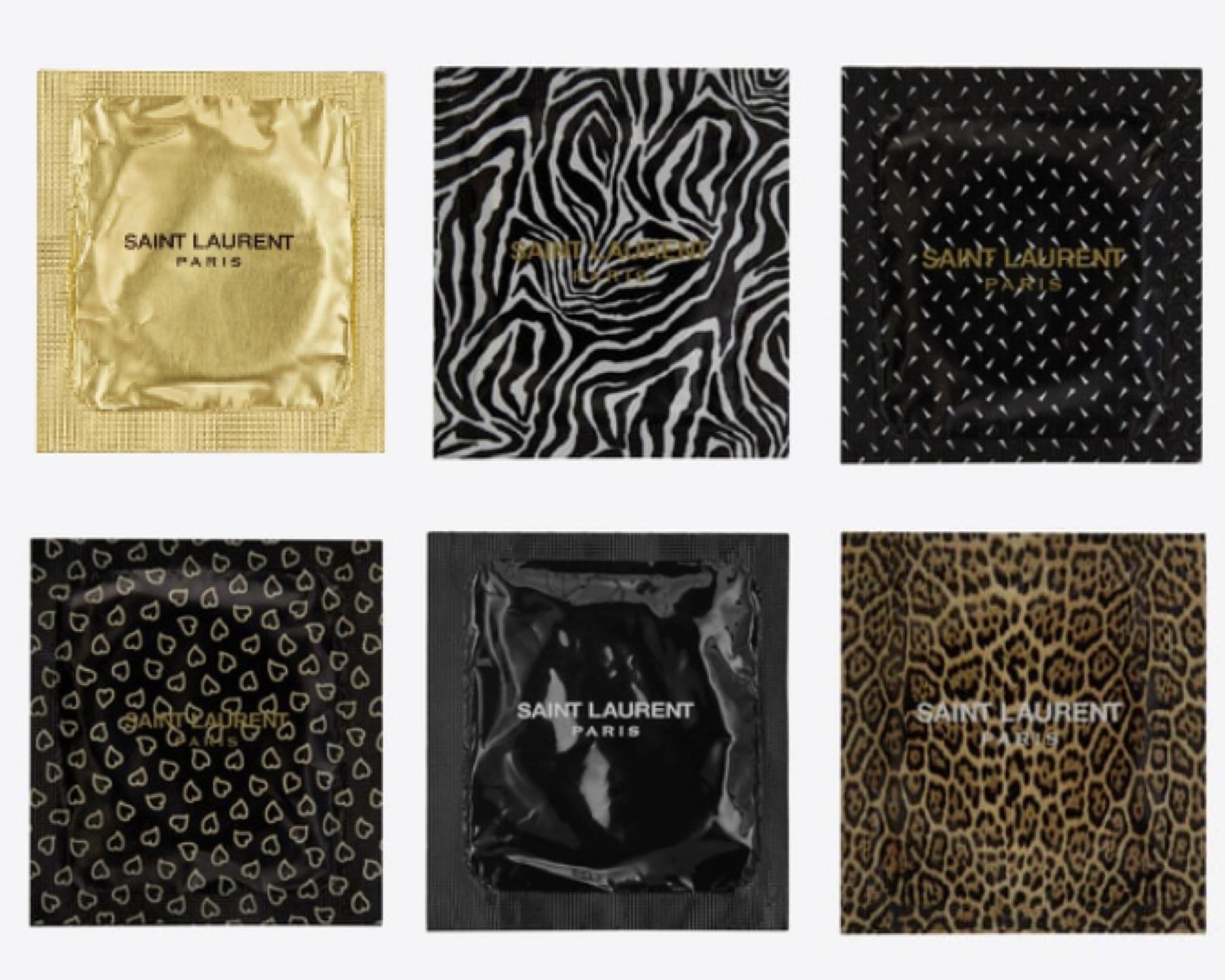 Los condones de Saint Laurent forman parte de la nueva campaña The Love Affair, que muestran a la perfección el significado de un empaque de lujo.
