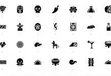 Estos iconos de México son perfectos par crear gráficos alusivos a las fiestas patrias, desde banderas hasta símbolos populares.