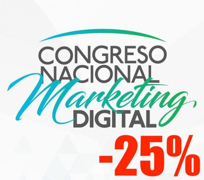 Hoy último día de 25% de descuento para el Congreso Nacional de Marketing Digital, aprovechálo aquí y conoce los beneficios que incluye.