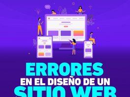 Evitar estos errores en el diseño web de un sitio podrían significar la diferencia entre la pérdida de visitantes y el posicionamiento de éste.