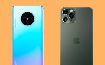 Tal parece que entre los diseños del Mate 30 e iPhone 11 Pro la gente prefiere el del Samsung S10, los últimos lanzamientos recibieron muchas comparaciones.