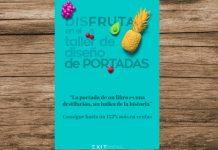 Crea la tapa de tu libro con 'Disfruta en el Taller de Diseño de Portadas'