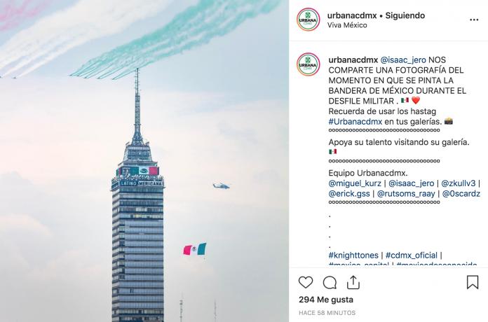 Este año el significado del Desfile Cívico Militar tiene un mensaje muy importante, pues se representaron las cuatro transformaciones que tuvo México.