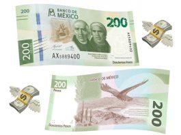 """El nuevo billete de 200 pesos aún es verde y ya está en circulación, pero desapareció la """"sorjuanita"""" del anverso y se reemplazó por Hidalgo y Morelos."""