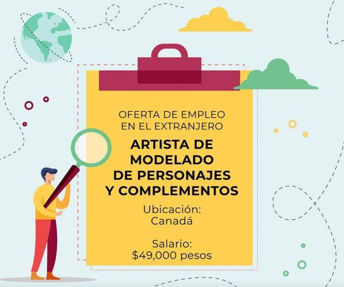 Canadá solicita diseñadores para trabajar en el extranjero creando personajes, animaciones y otros complementos. ¡Es tú oportunidad!