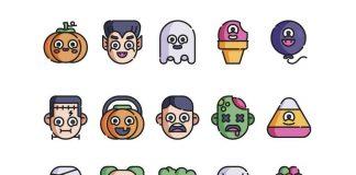 Estos iconos de Halloween te ayudarán a crear los mejores diseños para la temporada, desde dibujos flat, a color o minimalistas.