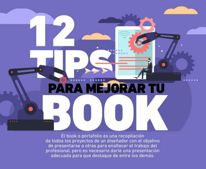 El diseño de tu portafolio debe ser atractivo para que destaque de entre los demás, para ello te damos los pasos a seguir en la realización de un book.