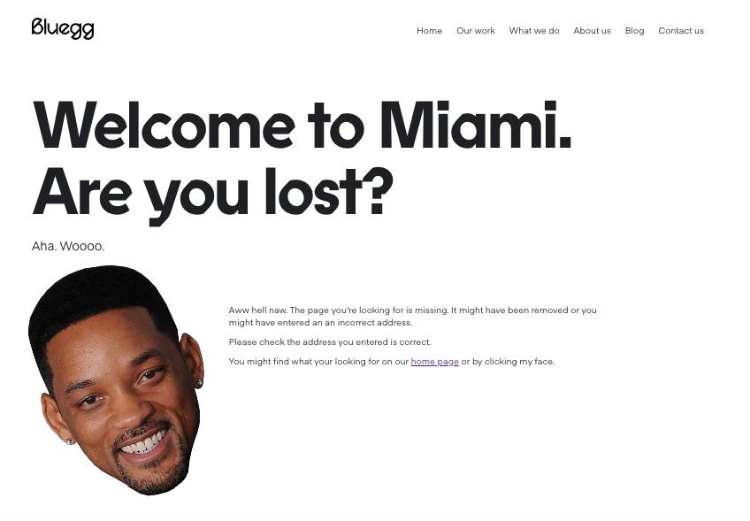 Aunque creamos que no necesitamos ninguna, las páginas de error 404 son un elemento indispensable en la construcción de un sitio.