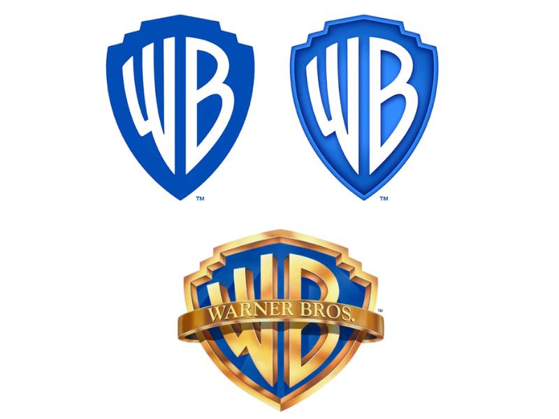 Como parte de las preparaciones para el primer centenario, el nuevo logo de Warner Bros. se actualiza a las tendencias minimalistas y con un solo color