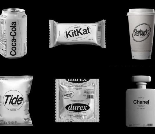 Kunel Gaur imaginó cómo lucirían los empaques de marcas con diseño minimalista y si sólo estuvieran en blanco y negro, te mostramos algunos ejemplos.